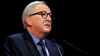 """يونكر متحدثاً في بروكسل أمس بمناسبة إطلاق """"أيام أوروبا الصناعية"""""""