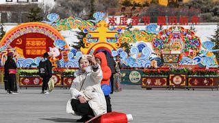 """Losar"" or the Tibetan New Year"