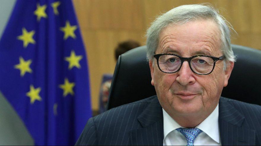 ژان کلود یونکر رئیس اتحادیه اروپا