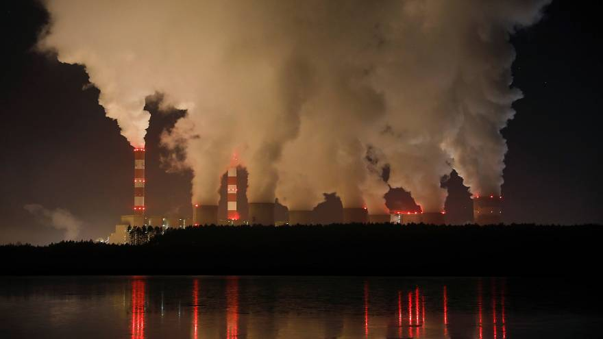 Europe's largest coal-fired power plant operated by PGE Group in Poland