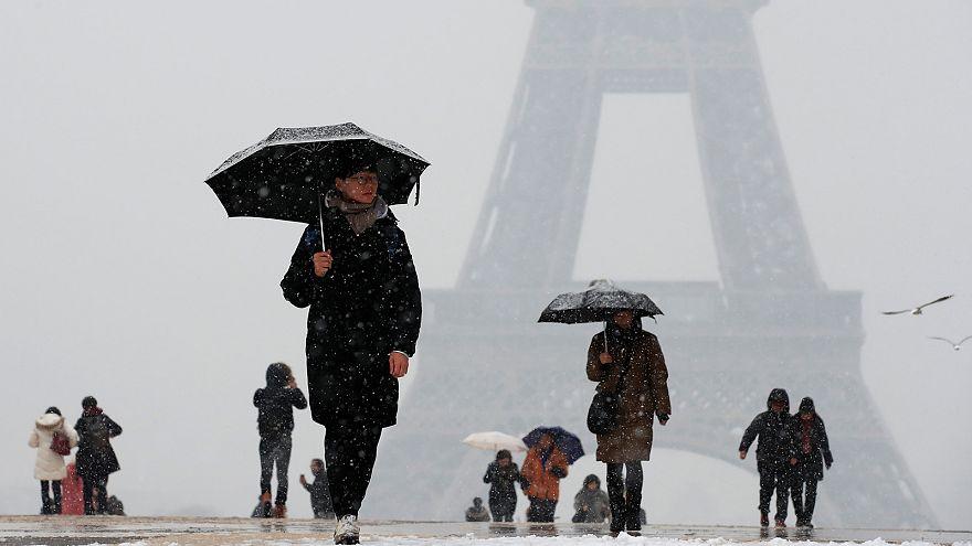 O clima no mundo, em janeiro
