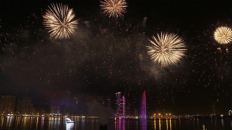 Фестиваль света в Шардже