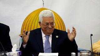 الرئيس الفلسطيني محمود عباس-رام الله