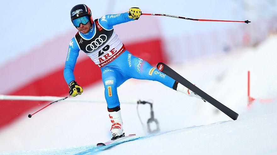 Mondiaux de ski : l'italien Dominik Paris champion du monde de Super-G