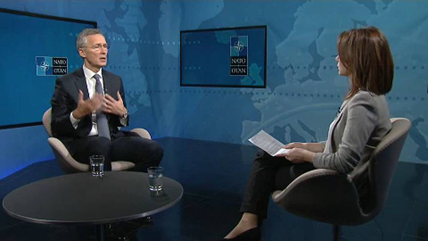 Ο Γενς Στόλτενμπεργκ στο Euronews