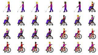 Инвалидность включили в коллекцию эмодзи