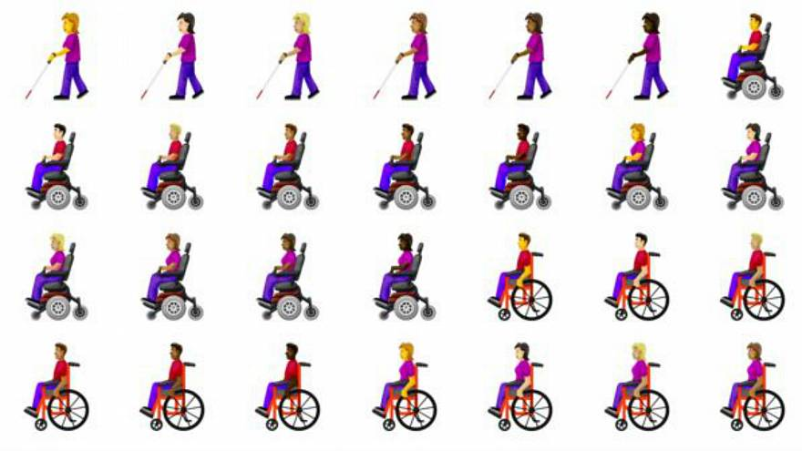 Disability-themed emojis coming to smartphones this year
