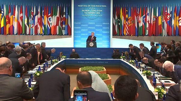Treffen der Anti-IS-Koalition: USA sichern Verbündeten weitere Unterstützung zu