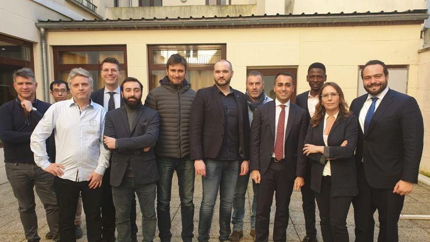 La France ne digère pas la visite italienne aux Gilets jaunes