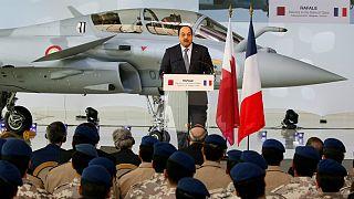 قطر اولین جنگنده رافال فرانسه را تحویل گرفت