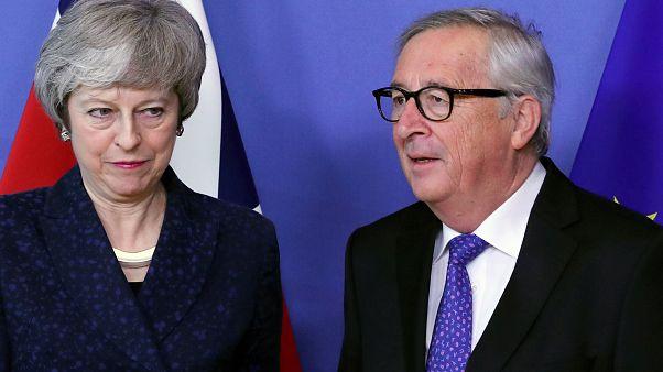 """İngiltere Başbakanı May Brüksel'de: """"Taraflar Brexit'te bir çıkış yolu için birlikte çalışacak"""""""