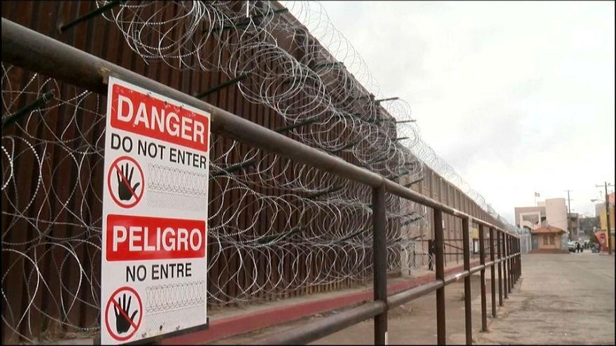 Los habitantes de Nogales no quieren concertinas