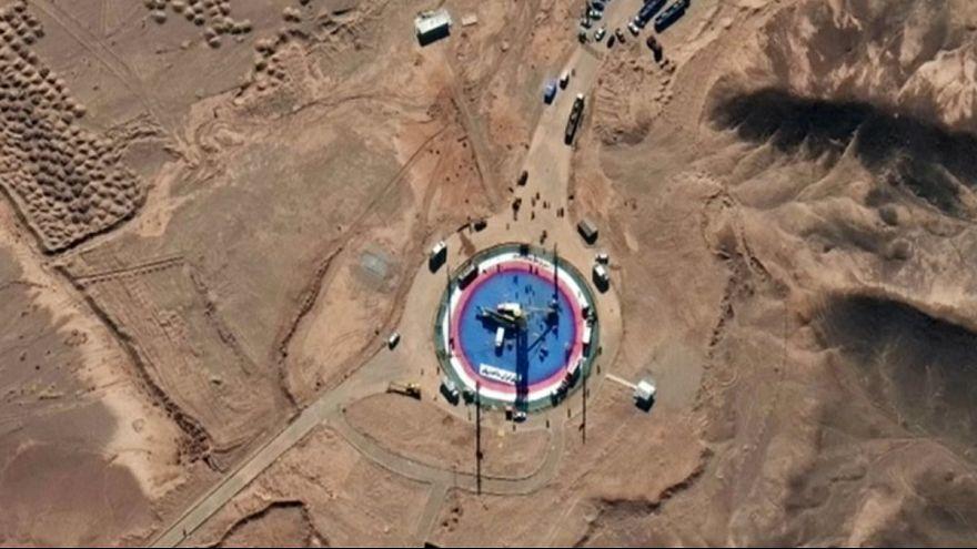 تصاویر ماهوارهای از پرتاب احتمالی ماهواره دوم توسط ایران
