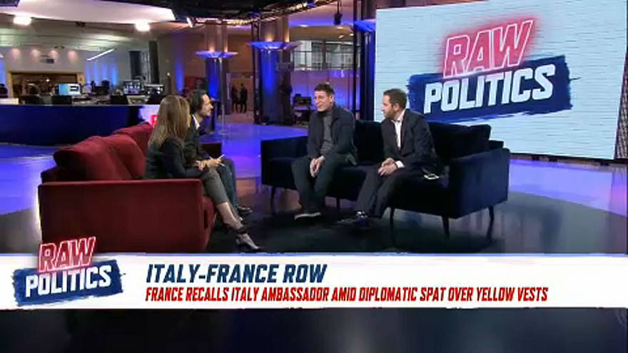 Raw Politics in full: May in Brussels; France-Italy spat and Rome's economic woes