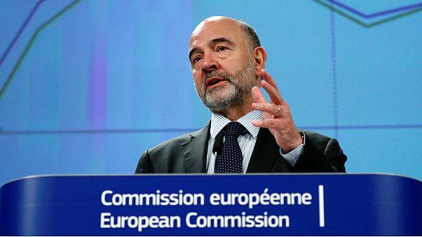 Pierre Moscovici na apresentação das estimativas económicas para 2019