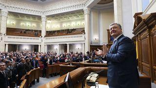 El parlamento ucraniano apuesta por la OTAN y la Unión Europea
