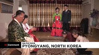 North Koreans celebrate first day of Lunar New Year