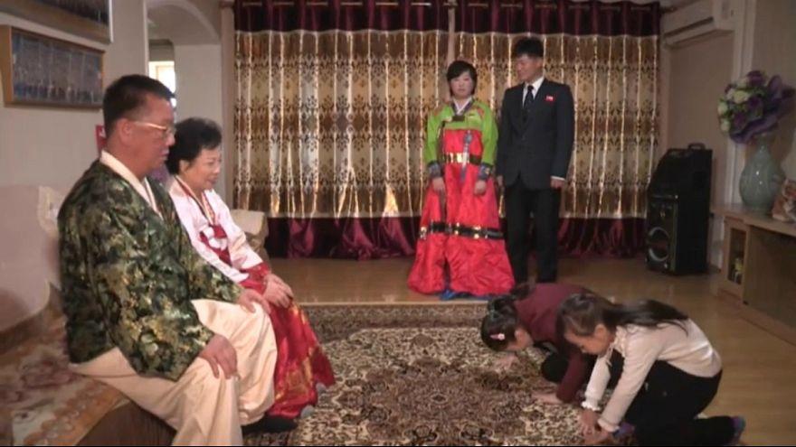جشن سال نو چینی در کره شمالی