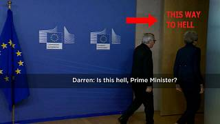'Is this hell prime minister?' Euronews journalist asks May ahead of EU meeting