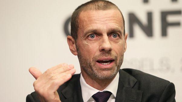 Aleksander Ceferin als UEFA-Präsident wiedergewählt