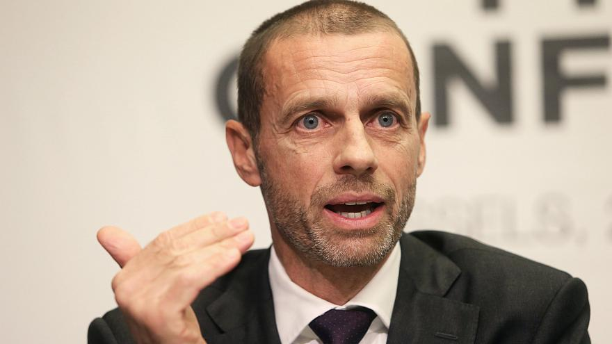 Ceferin repite mandato en la UEFA