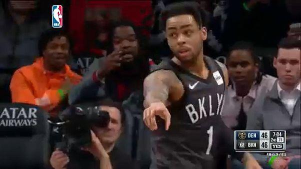 NBA: nem volt esélye a Nuggetsnek Brooklynban