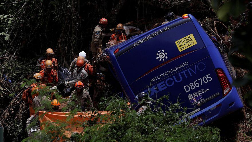 Temporal faz cinco mortos no Rio de Janeiro
