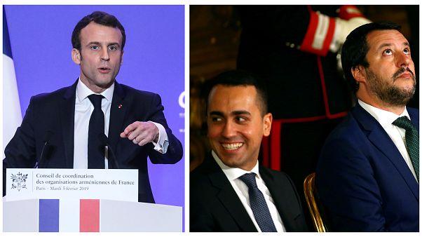 Crisis diplomática entre Paris y Roma