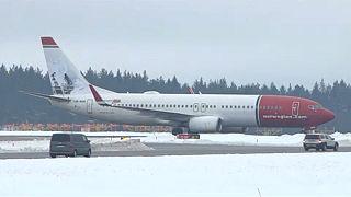 Bombariasztás miatt kellett visszafordulnia egy repülőnek Svédországban