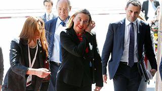 فيديريكا موغيريني (الخارجية الأوروبية) مشاركة في مؤتمر اليوم