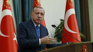 Erdoğan: ABD'nin silah yardımı YPG'ye PKK'ya geliyor