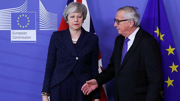 ترزا می در بروکسل؛ در مذاکرات بر سر توافقنامه برکسیت پیشرفتی حاصل نشد