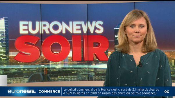 Euronews soir : l'actualité de ce 7 février