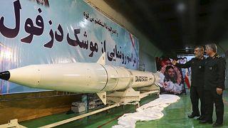 صورة من قلب المنشأة العسكرية الإيرانية لصاروخ دزفول
