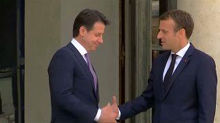 Aumento de tensões entre França e Itália