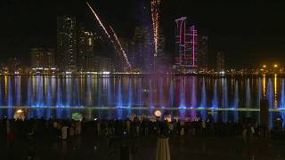 Ninth annual Sharjah Light Festival in UAE