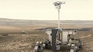 ExoMars' Rosalind Franklin rover.
