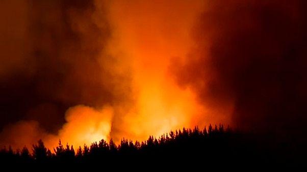 Százakat evakuálnak a tűz miatt Új-Zélandon