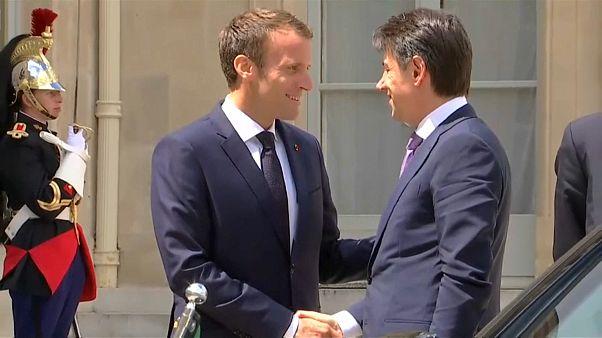 Os altos e baixos das relações franco-italianas