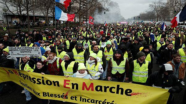 """""""السترات الصفراء"""" تدعو لمظاهرة إيطالية فرنسية مشتركة لدعم الحكومة في روما"""