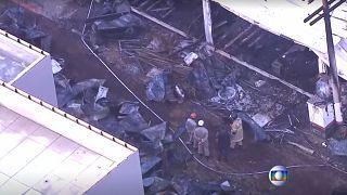 آتشسوزی در خوابگاه باشگاه فلامینگو ده کشته بر جای گذاشت