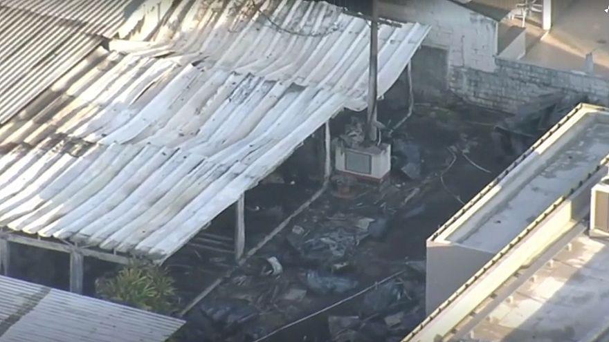 Пожар на базе ФК «Фламенго», есть погибшие