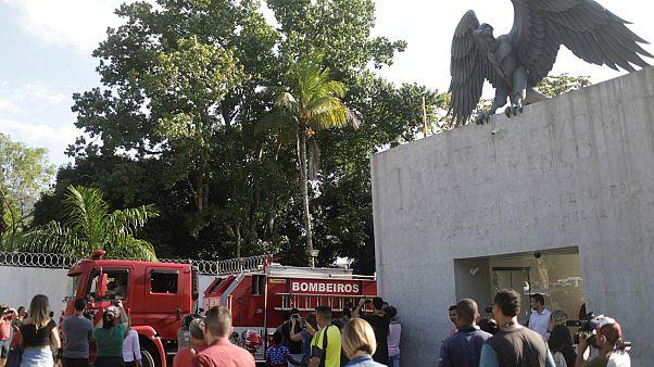 مقتل 10 لاعبين في حريق بنادي فلامنغو البرازيلي