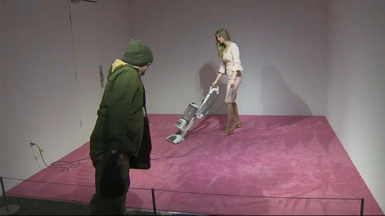 Ivanka Trump serve de inspiração a obra de arte