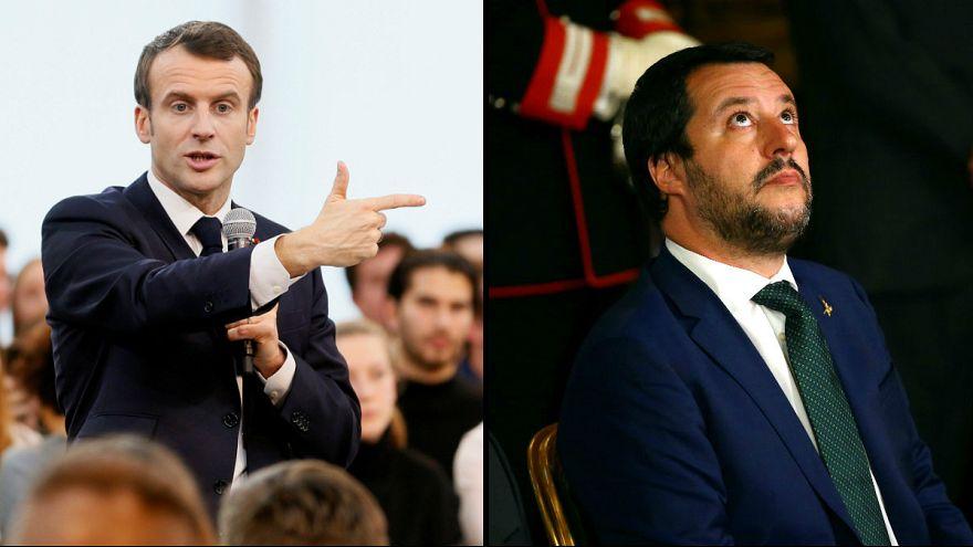 Emmanuel Macron recusa encontro com Matteo Salvini
