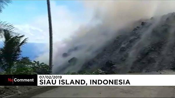 Indonesia decreta el estado de emergencia en la isla de Siau