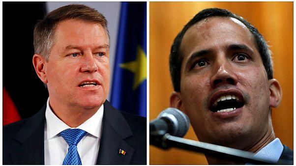 الرئيس الروماني يعترف بشرعية زعيم المعارضة الفنزويلية