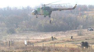 Macedonia destaca la preparación de su ejército para entrar en la OTAN