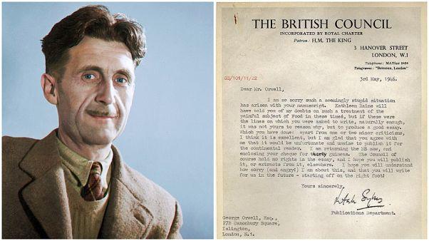 المجلس الثقافي البريطاني يعتذر من الروائي العالمي أورويل بعد 73 عاماً