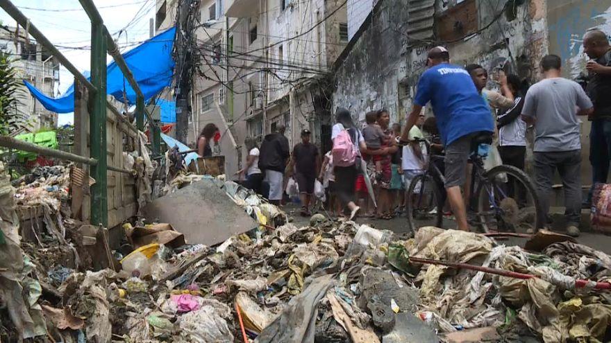 Pluies diluviennes à Rio